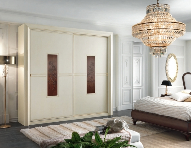 Bedroom Wardrobe Cabinets Glass Chandelier Enlightening Modern Bedroom Which Is Completed And Chic Table Lamp Pics 44