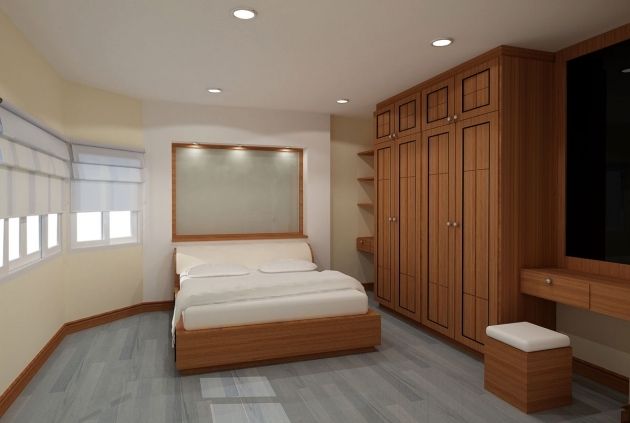Bedroom Wardrobe Cabinets With Classy Wood Closet Furniture With Cabinets Storage Ideas  Pics 10