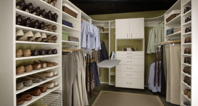 Closet Organizer Systems Solution Bedroom Wardrobe Storage Image 38