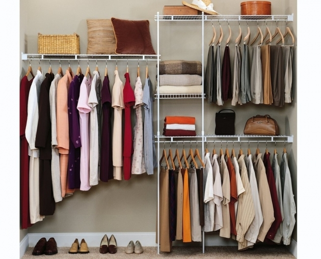 Closet Storage Ideas Hanging Easy Solutions Closet Organizers Photo 91