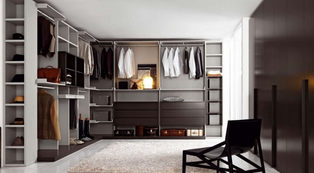 Clothes Wardrobe Furniture White And Brown Walk In Closet Color Combination With Impressive Plentiful Cloths Storage Image 73