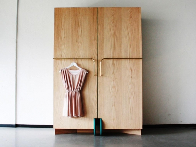 Free Standing Wardrobe With Doors Home Design Ideas Photo 36