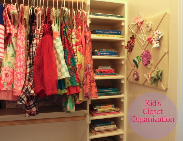 Kids Closet Organizer Ideas Photos 27
