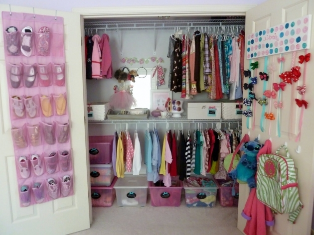 Kids Closet Organizer With Hanging Racks Photos 17