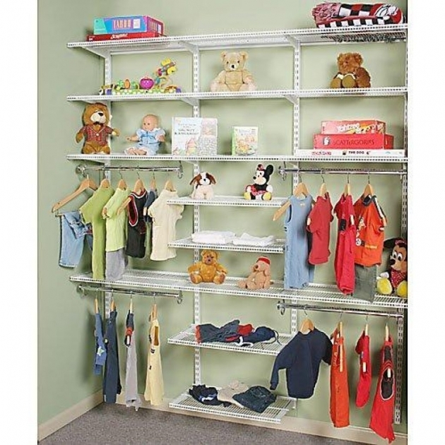 Kids Closet Organizer With Simple Rack Ideas Application Images 63