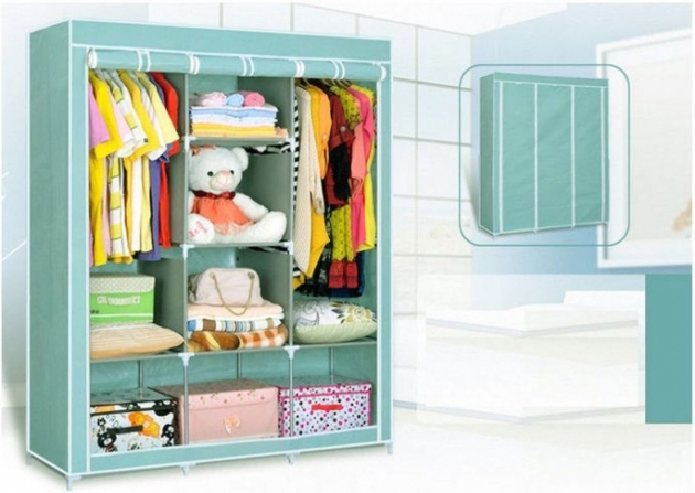 Portable Wardrobe Closet Small Wood For Kids Room Photos 33