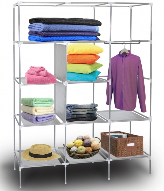 Small Wardrobe Closet Oxgord Portable Storage Organizer Pictures 69