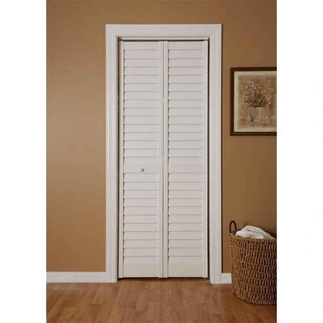Small Wardrobe Closet Stylish Louvered Closet Door Design Ideas Pic 03
