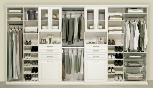 Storage Wardrobe Closet Furniture Linen Storage Shelves Ideasmade Of Solid Wood In White Finish Having Drawers And Flass Doow Panel Image 60