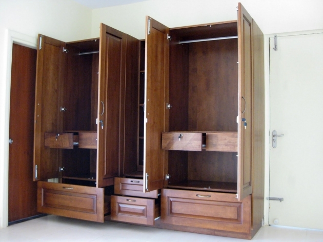 Wardrobe Closet Armoire Modern Home Interiors Images 84