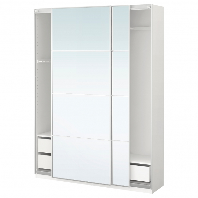 White Wardrobe Closet Armoires Ikea Picture 14