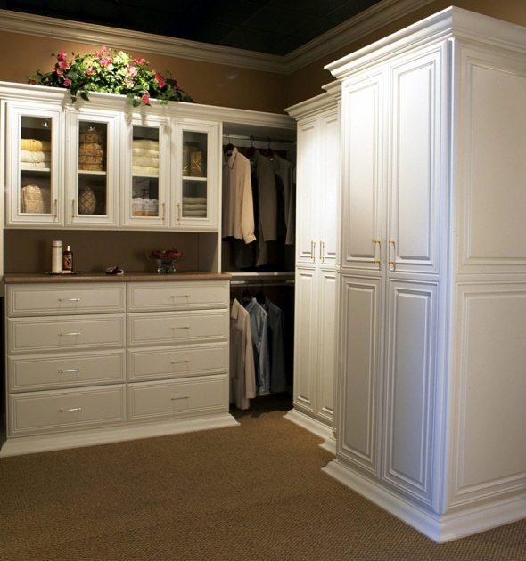 White Wardrobe Closet Elegant Master Walk In Closets Pic 18