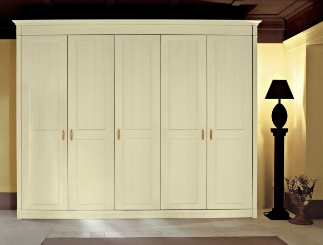 White Wardrobe Closet Elegant White Stained Wardrobe Design With Wooden Material 6 Door Pictures 77