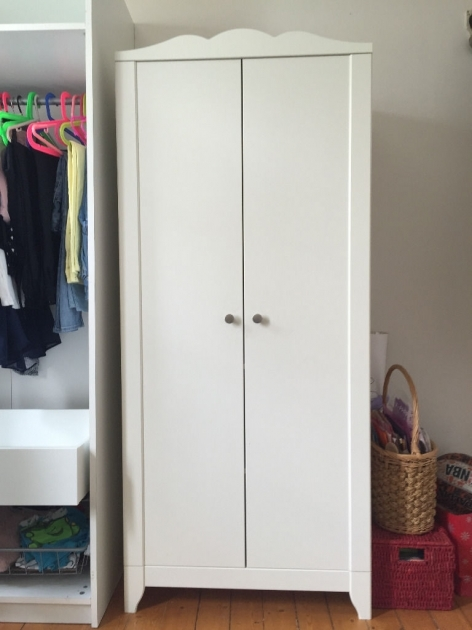 White Wardrobe Closet Simple Home Furniture Design With White Closet And Cloth Hanger Also Brown Wood Floor Ikea Photos 07