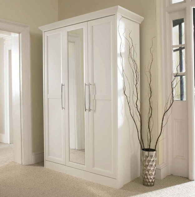 White Wardrobe Closet With Mirror Home Design Ideas Picture 35