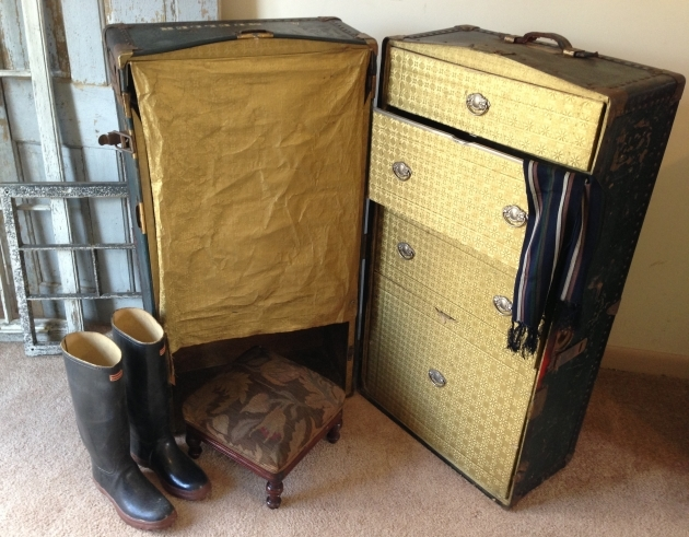 Antique Wardrobe Trunk Steamers Pictures 38