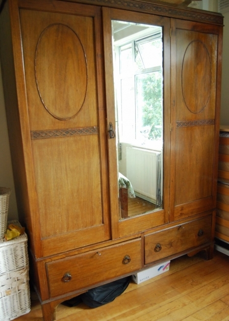 Antique Wardrobe With Mirror Solid Wood Vintage Wardrobe And Drawers Picture 64