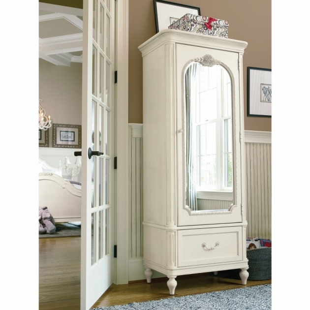 Antique Wardrobe With Mirror With Paint White Furniture Images 92