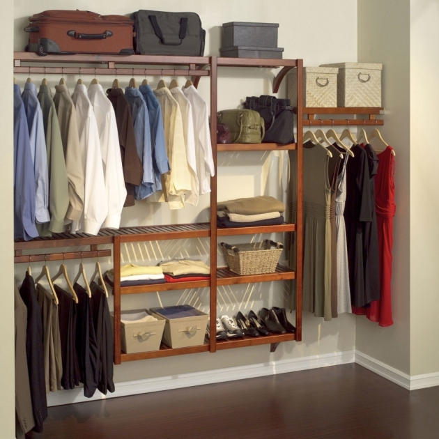 Closet Shelving Ideas Brown Woonde Floating Shoes Racks With Multi Tire For Small Closet Photos 50
