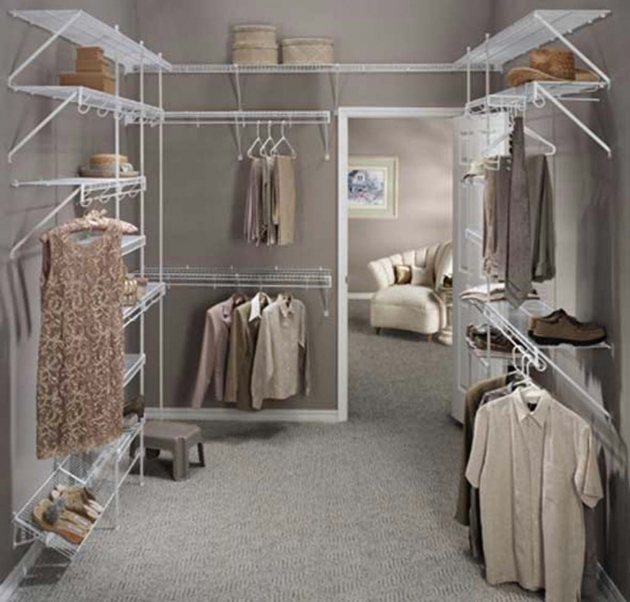 Closet Shelving Ideas Sleek Wire With Hanger Also Shoes Rack Décor Image 28