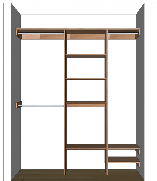 Closet Shelf Organizer Diy Closet Organizer Plans For 539 To 839 Closet Pictures