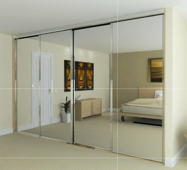 Glass Wardrobe Change The Beginning And The End Of Your Day With Mirrored Photo