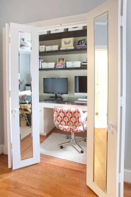 Office Closet Organizer 1000 Images About Office In Disguise On Pinterest Closet Office Images