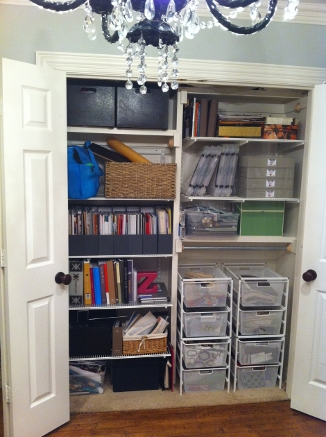 Office Closet Organizer How To Organize An Office Closet Pictures