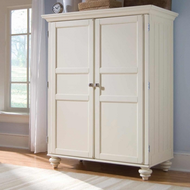 Sauder Wardrobe Armoire Furniture White Armoire Wardrobe On Cozy Kahrs Flooring And Lowes Photo