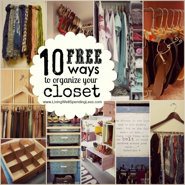 Bedroom Closet Organization Ideas Organize Your Bedroom Closet Day 12 Living Well Spending Less Image