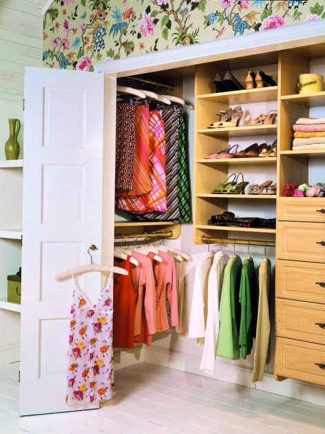 Closet Ideas For Small Closets 1000 Images About Small Closet Fixes On Pinterest Small Closets Photo