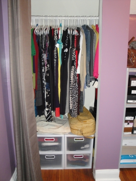 Closet Ideas For Small Closets 1000 Images About Small Closet Ideas On Pinterest Closet Pic