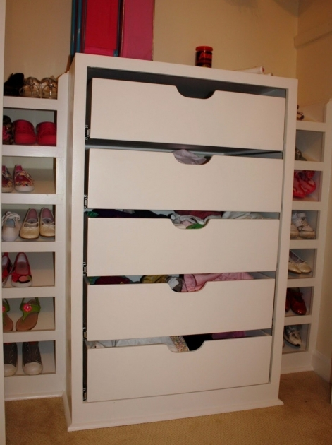 Closet Organizer Drawers Closet Organizers With Drawers Decorating And Design Villaran Pics