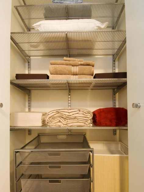 Closet Storage Shelves Organizing Your Linen Closet Easy Ideas For Organizing And Images