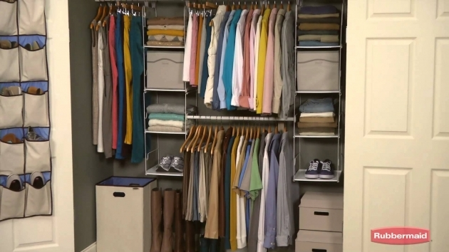 Rubbermaid Closet Organizer Rubbermaid Closet Helper Youtube Picture