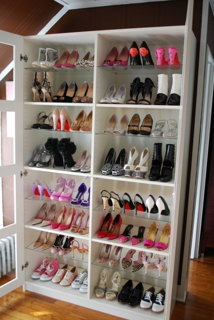 Shoe Storage In Closet Simple And Big Size Shoe Racks For Closets With 8 Layer Shoe Rack Image
