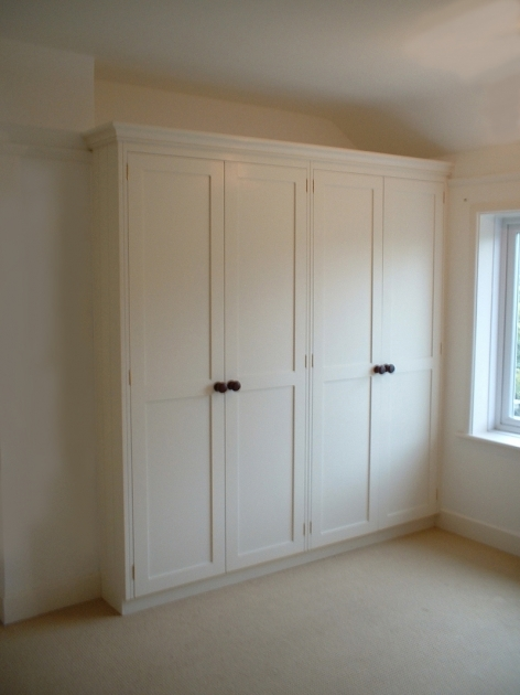 Tall Wardrobe Cabinet Recessed Wardrobe Closet With Varnished Wooden Cabinet Door And Images