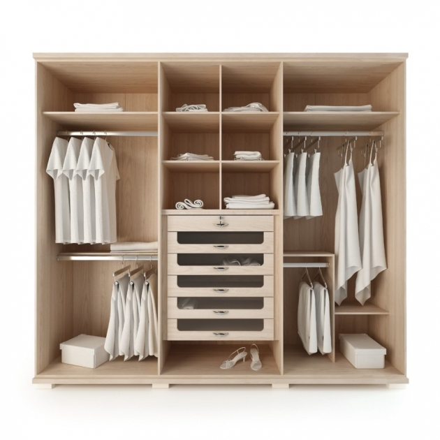 Wardrobe For Kids Doorless Kids Wardrobe With Drawers From Light Wood Material Pictures