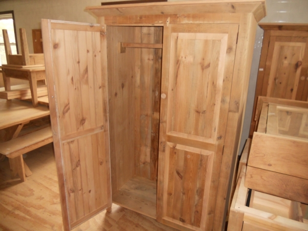 Wood Armoire Wardrobe Hand Painted 2 Door Clothes Wardrobe Armoire Cabinet Furniture Pic
