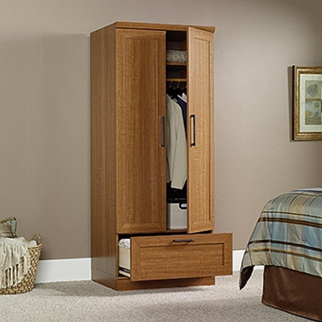 Wood Wardrobe Cabinet Armoires Bedroom Furniture Furniture The Home Depot Images
