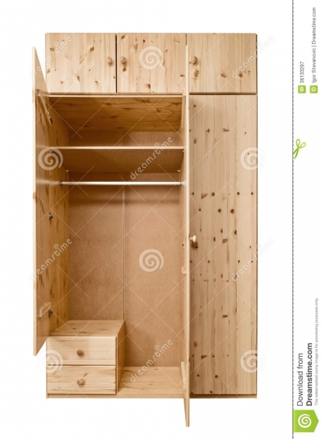 Wood Wardrobe Cabinet Open Wooden Cabinet Royalty Free Stock Photography Image 36133297 Pics
