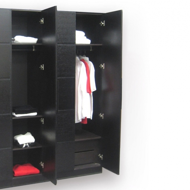 Black Armoire Wardrobe Modern Armoires And Wardrobes Om Home Design Picture