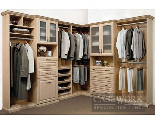 Built In Closet Systems Custom Blended Wood Cabinets Orlando Custom Built Desks And Image