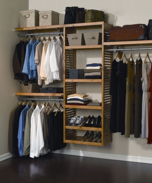 Built In Closet Systems How To Build A Closet Organizer Closet Design Ideas Pictures