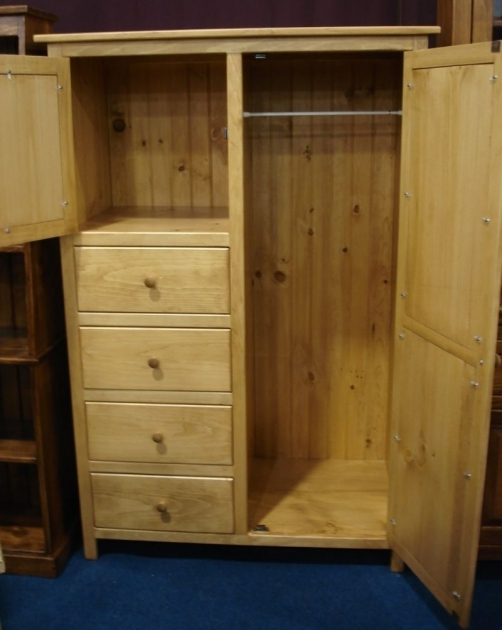 Closet Armoire Wardrobe Pine Wood Wardrobe Armoire From Dutchcrafters Amish Furniture Pic