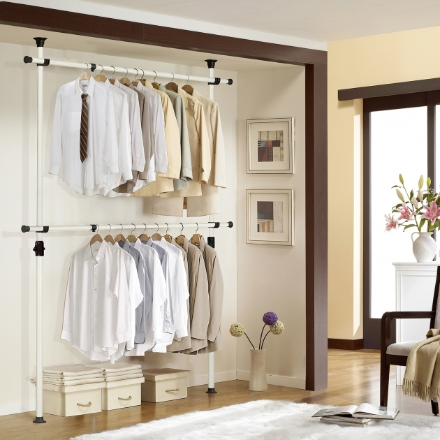 Closet Organizer Hangers Clothing Rack Install Without Tool Closet Organizer Picture