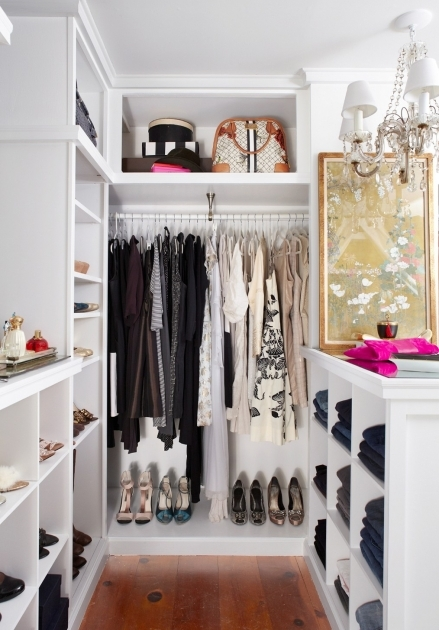 Ideas For Walk In Closet Organize Small Walk In Closet Ideas Designs Photo