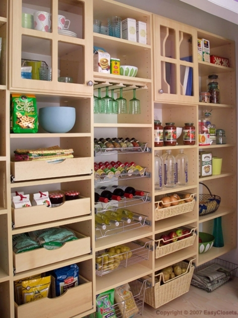Pantry Closet Organizers Pantry Cabinets And Cupboards Organization Ideas And Options Images