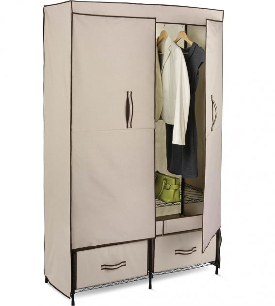Portable Storage Closet Portable Storage Closet In Clothing Racks And Wardrobes Pic