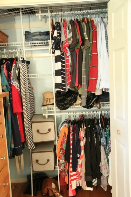 Small Closet Storage Tips Amp Tools For Affordably Organizing Your Closet Momadvice Pic